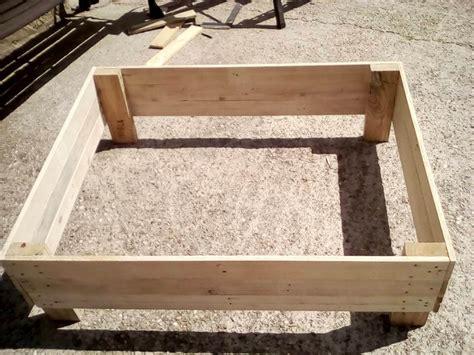 how to make dog beds diy wooden pallet dog bed