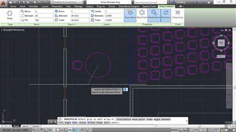 beginners autodesk autocad 2014 tutorial creating blocks beginners autodesk autocad 2014 tutorial polar arrays