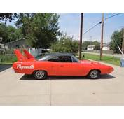Classic Car 1970 Plymouth Superbird And 1971 Dodge