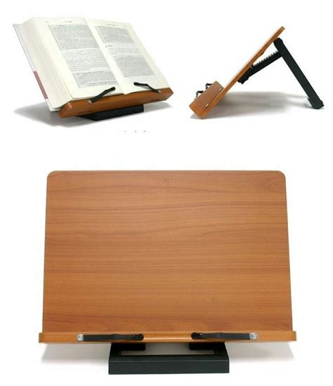 portable book reading stand desk document holder with