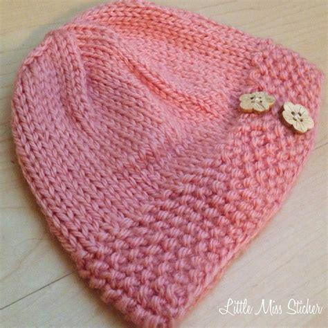 free knitting pattern hat pinterest adorable baby hat pattern it s free too knitting baby