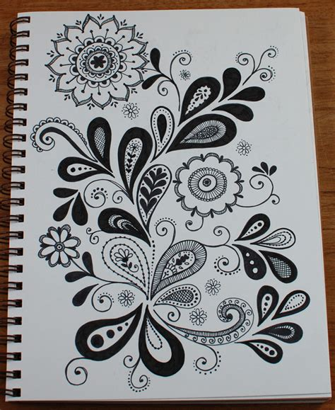 flower doodle quilt pattern i m wondering one at a time