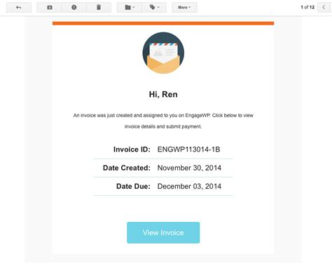 gravity forms email template create invoices with gravity forms and