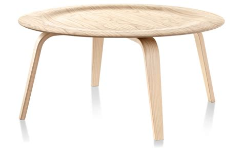 Eames Coffee Tables Eames Molded Plywood Coffee Table With Wood Base Hivemodern