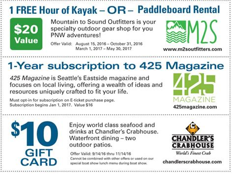 seattle boat show coupon ticket coupons 1 mastercraft seattle