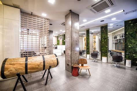 modern rainforest salons cuts color