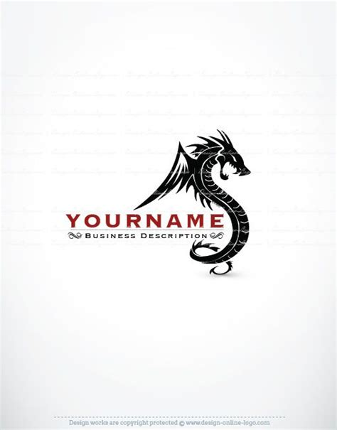 design logo dragon exclusive design dragon logo compatible free business
