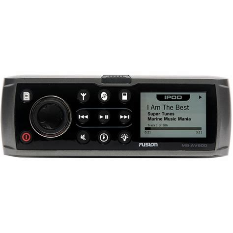 fusion boat stereo review fusion ms av600g marine dvd stereo tackledirect