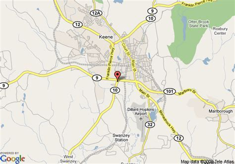 Map of Best Western Sovereign Hotel, Keene