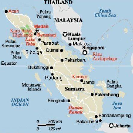 padang map
