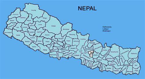 map of lalitpur nepal lalitpur district nepal