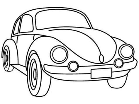 printable coloring pages vw bug free coloring pages of volkswagen beetle