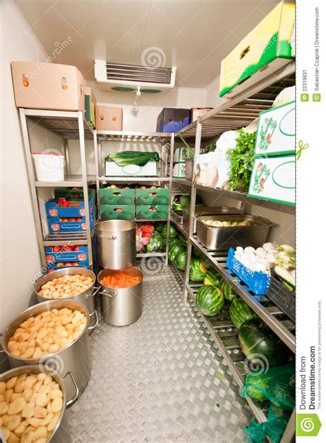 room cooler store walk in refrigerator cooler stock image image of trucks