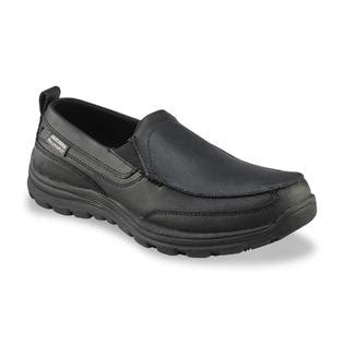 skechers work s hobbes slip resistant slip on work