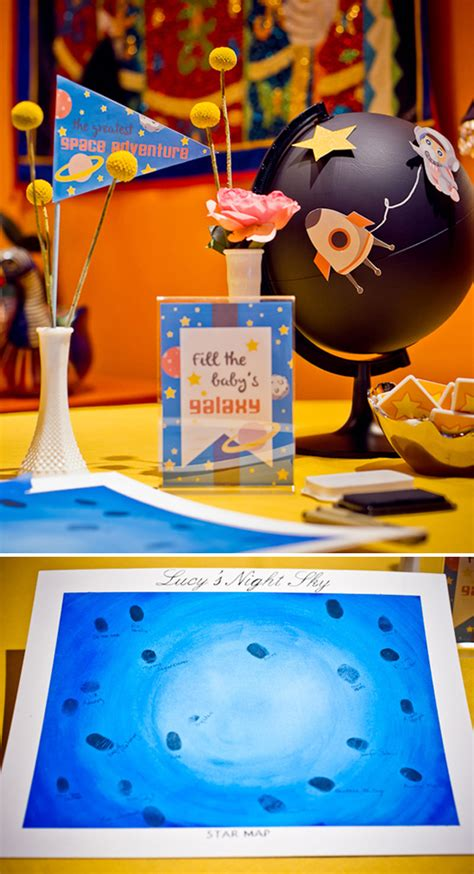space themed decorations outer space baby shower baby shower ideas themes
