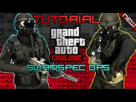 *new* swat/spec ops revised outfit tutorial | 1.39 | gta