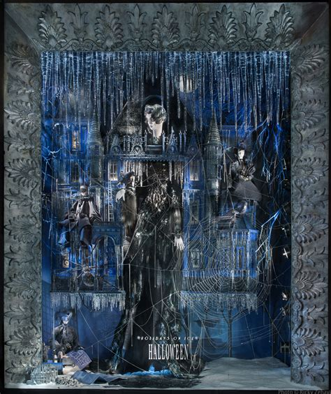 my favorite christmas window decorations in new york holidays on ice bergdorf goodman s chilling window