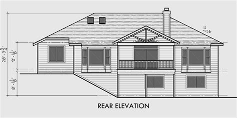 house plans with basement garage one story house plans daylight basement house plans side garage