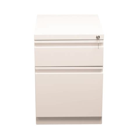 hirsh 2 drawer file cabinet hirsh industries 2 drawer mobile file cabinet in white 19309