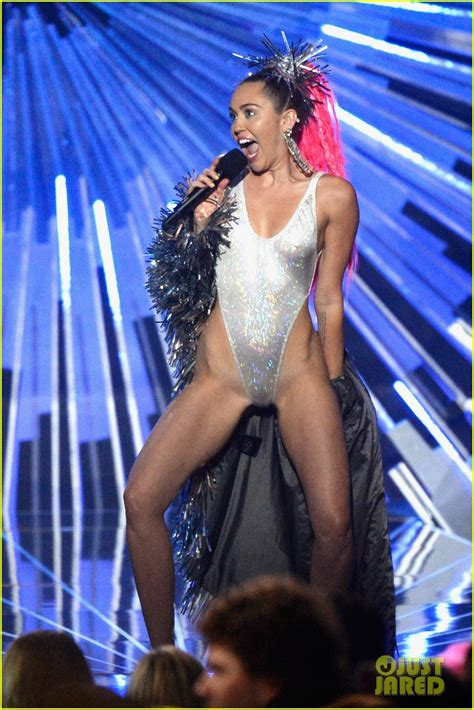 The Vmas Are Here by Miley Cyrus Mtv Vmas 2015 Performance Photo