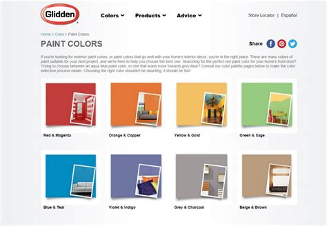 paint colors glidden how to a paint color for furniture risenmay