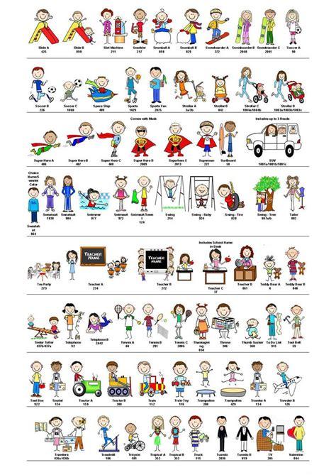 doodle list 198 198 best images about stick figures projects on