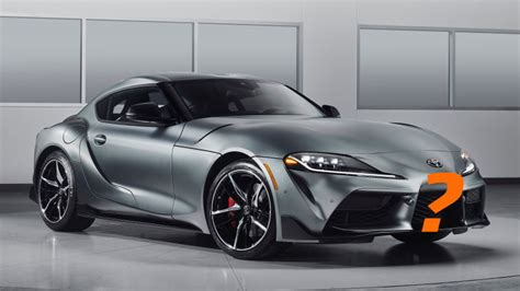 2020 toyota supra jalopnik where are you going to put a front plate on a 2020 toyota