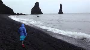 black sand 3 5 black sand beach near vik iceland 2 youtube