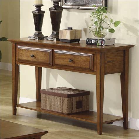 Riverside Furniture Stores by Riverside Furniture Oak Ridge Sofa Warm Oak Console Table