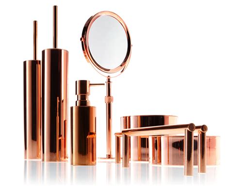 copper bath accessories by walther decor decor walther gmbh
