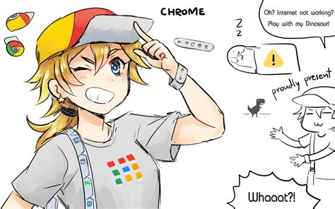 [Program Girl] Chrome by Reef1600 on DeviantArt