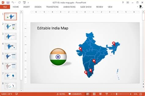 map templates for powerpoint editable powerpoint map for your country