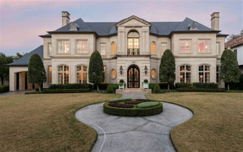 french style homes exterior french style home in dallas texas homes of the rich