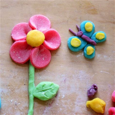 crafts lessons: homemade soft modeling clay tutoriarl