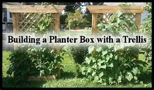 how to build a planter box with trellis building a planter box with a trellis hometalk