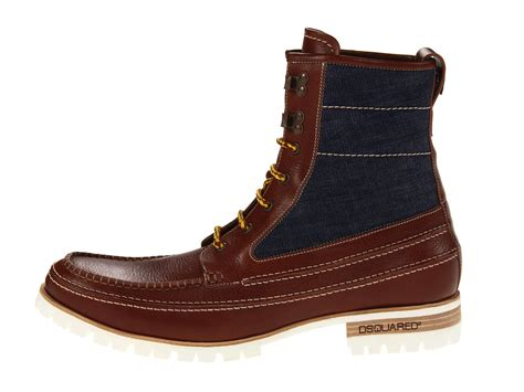 dsquared2 hiking ankle boot shipped free at zappos