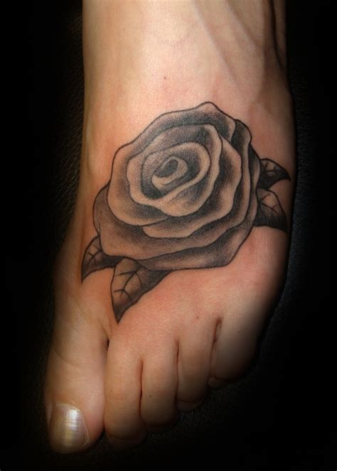 rose on foot tattoo tattoos designs ideas and meaning tattoos for you