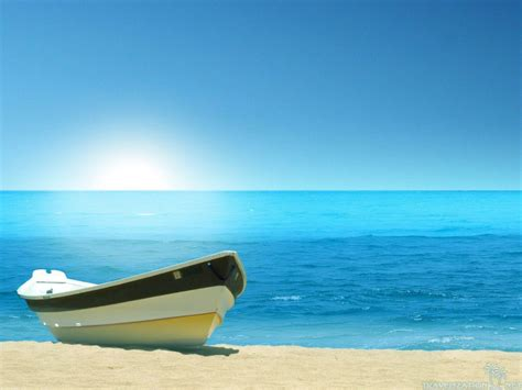 boat sea pictures wallpapers hd beaches with boats wallpapersafari