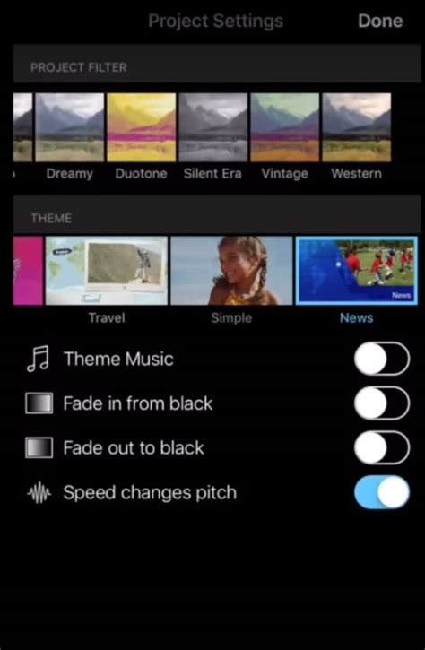 themes for imovie iphone tips for using imovie on iphone and top 5 imovies