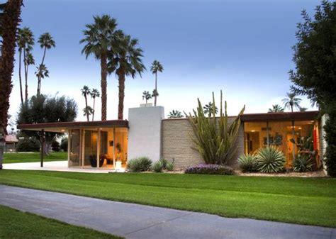 mid century modern mansion