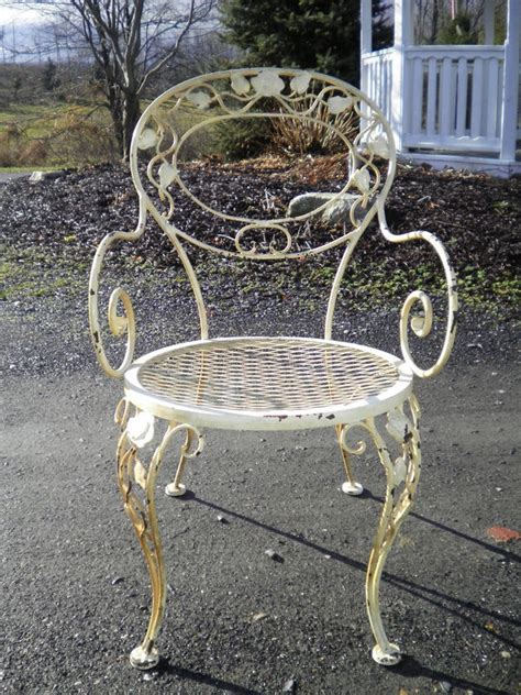 woodard chantilly rose vintage wrought iron patio