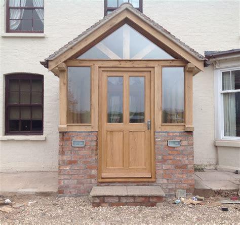 Front Door Porches Uk Oak Framed Enclosed Porch Lc Project Porch Front Porches And Front Doors