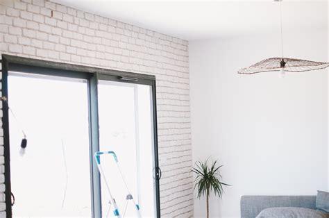 Comment Poser Du Platre Sur Un Mur by Poser Des Briques De Parement En Platre Tuto