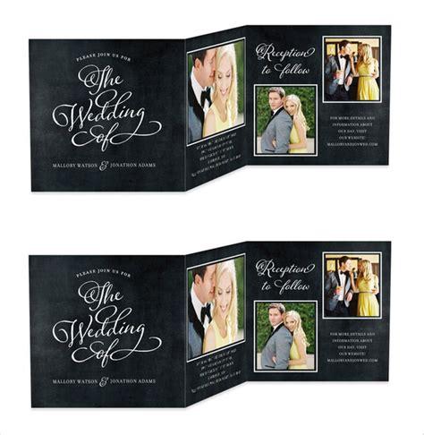 microsoft wedding program template ideas free tri fold templates for