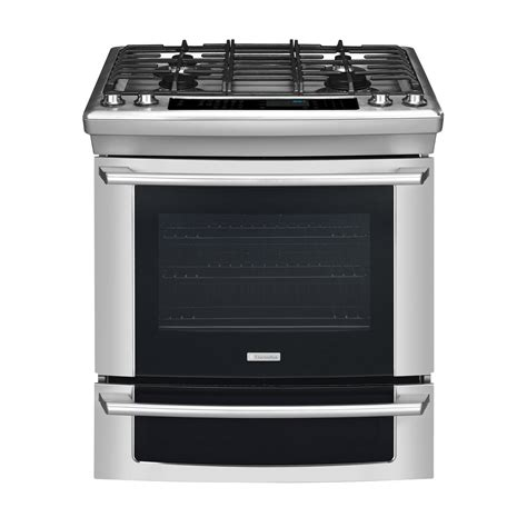 Oven Gas Electrolux electrolux ei30gs55js 30 quot slide in gas range w iq touch controls stainless steel sears