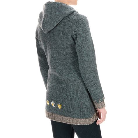 Jacket Consina Edelweiss Rd wool sweater lined sweater