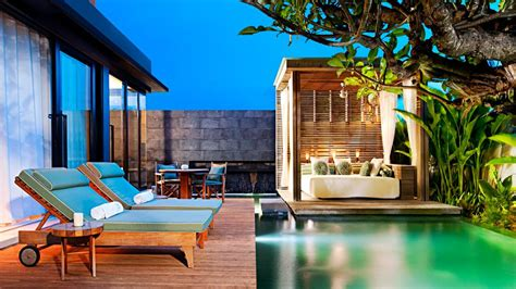 one bedroom villa with private pool bali w retreat spa bali seminyak seminyak bali