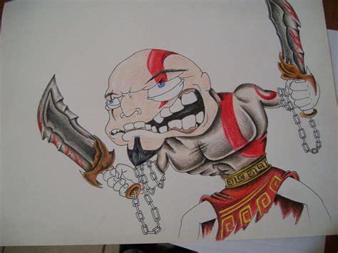 imagenes para dibujar piolas kratos caricatura pintada a lapiz paso a paso arte