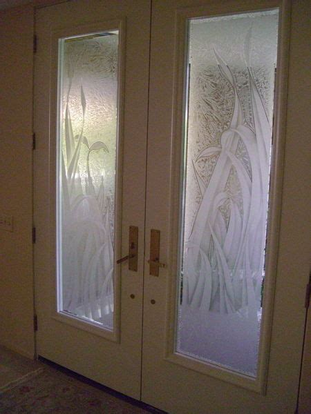 Foliage Designs Sans Soucie Art Glass Glass Door Etching Designs