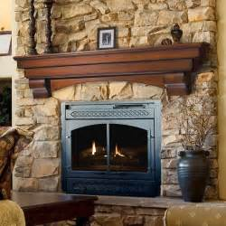 Stacked Stone Fire Pit Salem Wood Mantel Shelves Fireplace Mantel Shelf